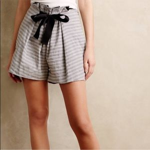 Anthropologie Shorts - ELEVENSES x Anthropologie high waisted bow shorts